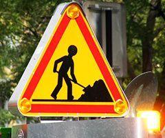 Le balisage des véhicules d'intervention et de travaux