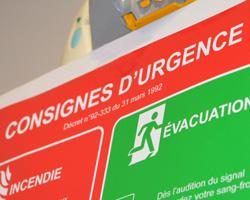 Affichage des consignes de sécurité : quelles obligations ?
