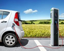 Marquage et signalisation du stationnement pour véhicule électrique
