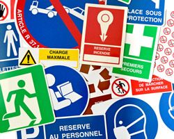 Virages, fabricant de panneaux et pictogrammes de sécurité