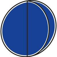 Panneau obligation avec volet 2 symboles type B