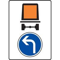 Panneau indication limitation tunnel C117 B21c2