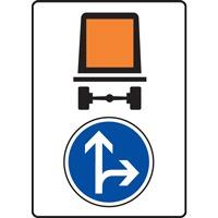 Panneau indication limitation tunnel C117 B21d1