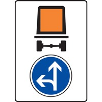 Panneau indication limitation tunnel C117 B21d2