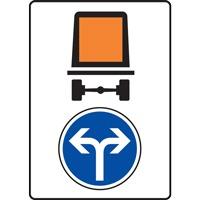 Panneau indication limitation tunnel C117 B21e