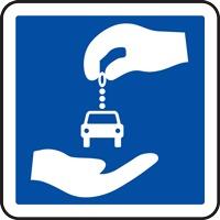 Panneau indication autopartage C9