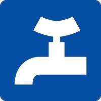 Panneau fluvial prise d'eau potable E13