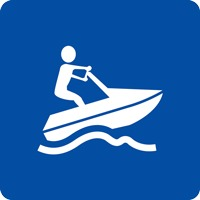 Panneau fluvial véhicules nautiques à moteur E24