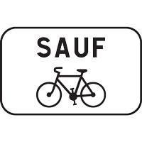 Panonceau voie autorisée aux vélos M9v2