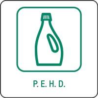 Panneau déchetterie P.E.H.D.