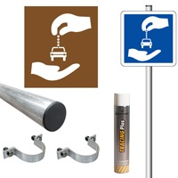 Pack signalisation parking autopartage