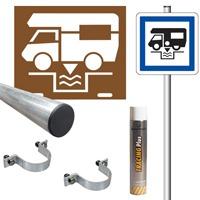 Pack signalisation station de vidange camping car