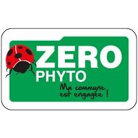Panneau de signalisation Zéro Phyto