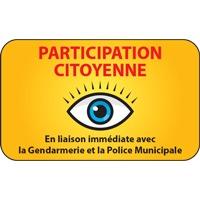 Panneau participation citoyenne (modèle 1)