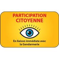 Panneau participation citoyenne (modèle 2)
