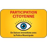 Panneau participation citoyenne (modèle 3)