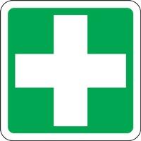 Panneau de signalisation poste de secours