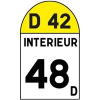 Borne kilométrique départementale E53a