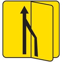 Panneau de signalisation avec volet - Type KD