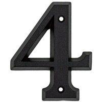 Numéro 4 en zamak