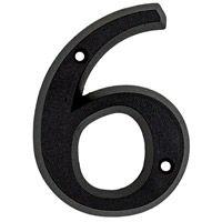 Numéro 6 en zamak