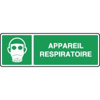 Panneau de premiers secours horizontal appareil respiratoire