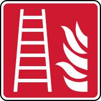 Panneau échelle d'incendie