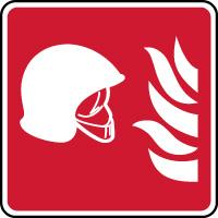 Panneau équipements de lutte contre l'incendie