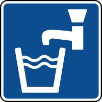Panneau d'information eau potable