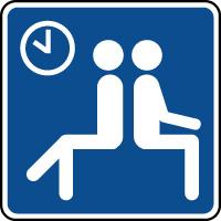 Panneau d'information salle d'attente