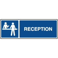 Panneau d'information horizontal réception
