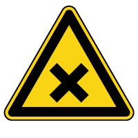 Panneau de danger matières nocives ou irritantes