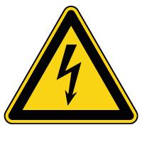 Panneau de danger électricité