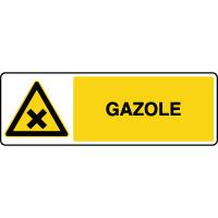 Panneau de danger gazole