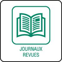 Panneau de tri sélectif journaux et revues