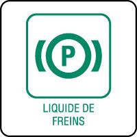 Panneau de tri sélectif liquide de freins