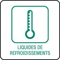Panneau de tri sélectif liquides de refroidissements