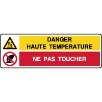 Panneau combiné danger haute température