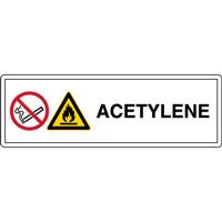 Panneau acétylène W021 P002