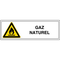 Panneau gaz naturel W021