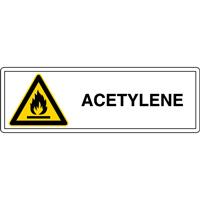 Panneau acétylène W021