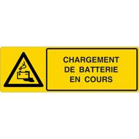 Panneau horizontal chargement de batterie en cours