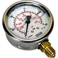 Manomètre de pression compatible