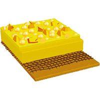 Bande jaune adhésive Stamark A711SD