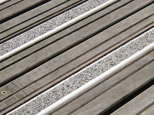 Rail de guidage antid rapant ext rieur for Antiderapant terrasse bois