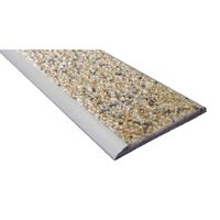 Nez de marche plat minéral extérieur 39 mm