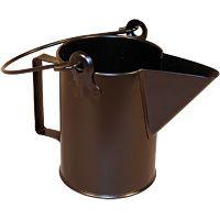 Broc métallique avec bec verseur de 3,5 litres