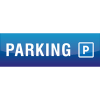 Support de communication au sol - P Parking