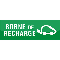 Support de communication au sol - Borne de recharge
