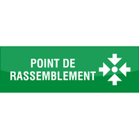 Support de communication au sol - Point de rassemblement